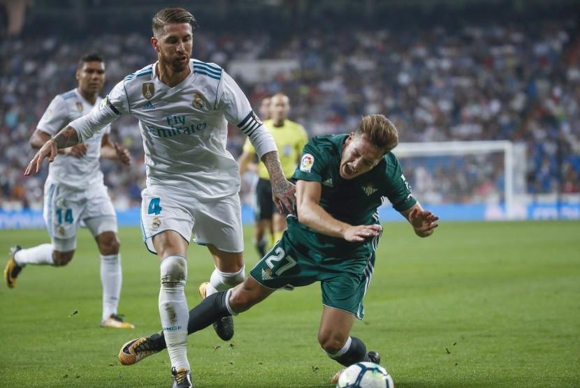 Madrid Kalah, Ramos Menolak Salahkan Wasit