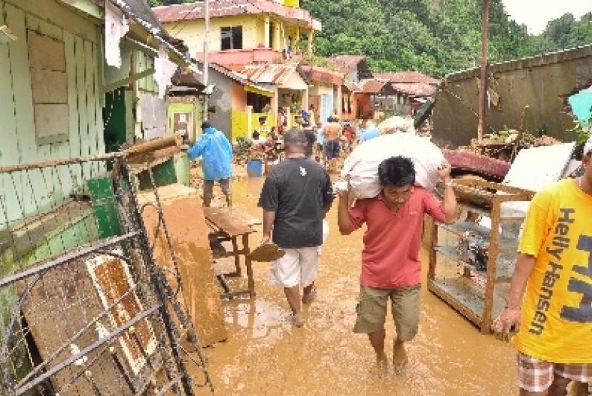 Bencana alam (ilustrasi).