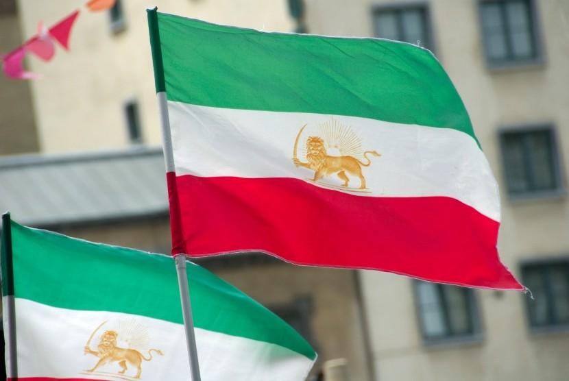 Bendera Iran.