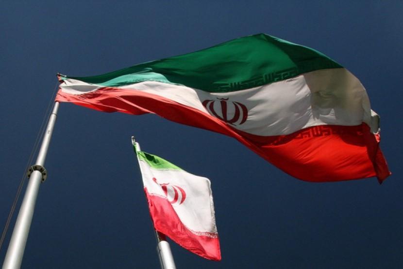 Bendera Iran/ilustrasi