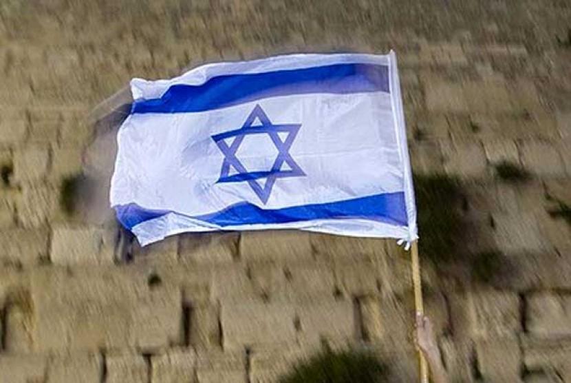 Bendera Israel. Ilustrasi