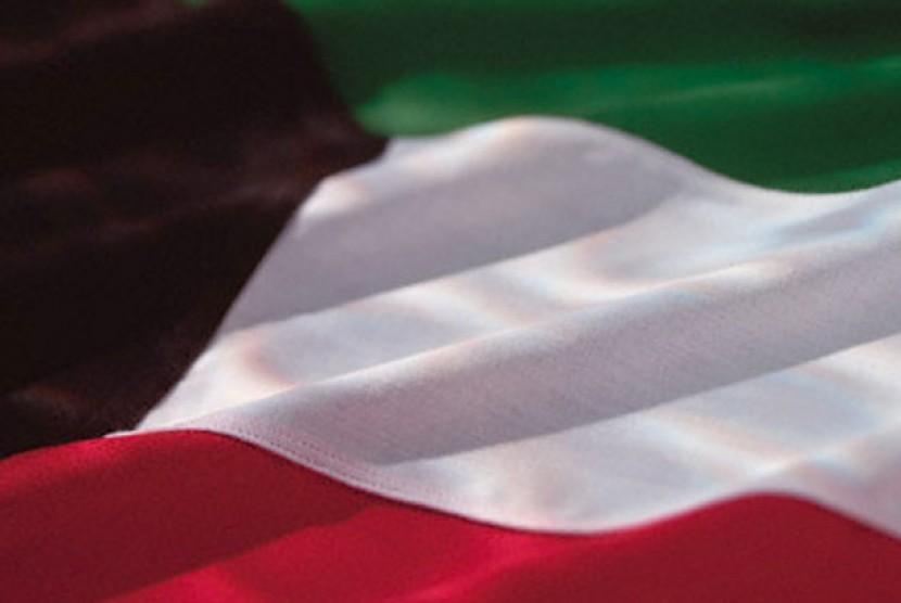 Bendera Kuwait. Ilustrasi.