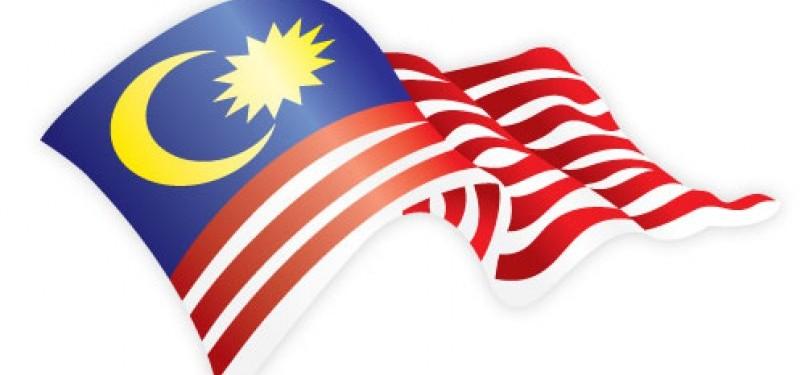 Bendera Malaysia. Ilustrasi