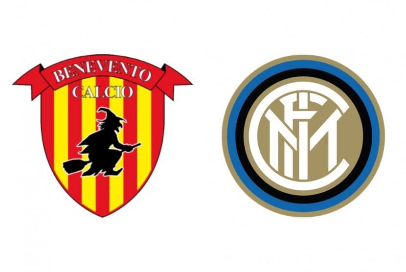 Benevento versus Inter Milan.