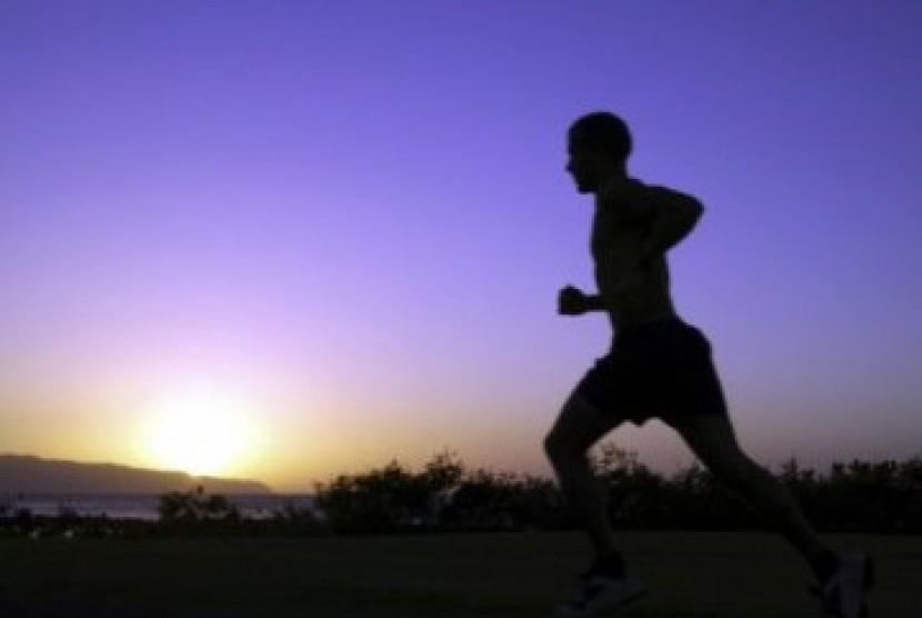 Berlari (Ilustrasi)