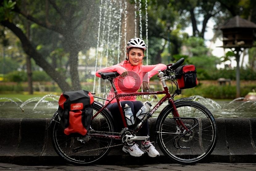 Bersepeda ke kantor bisa jadi cara seru berolahraga