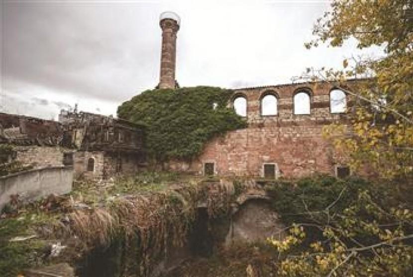 Biara Bizantium (Ilustrasi)