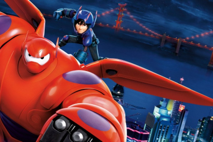 Serial Big Hero 6 Tayang November