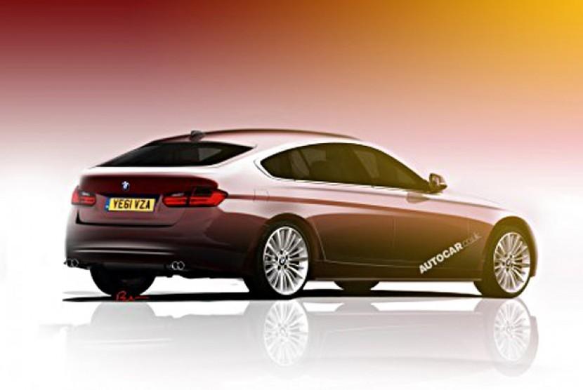 BMW 3-Series GT Concept.