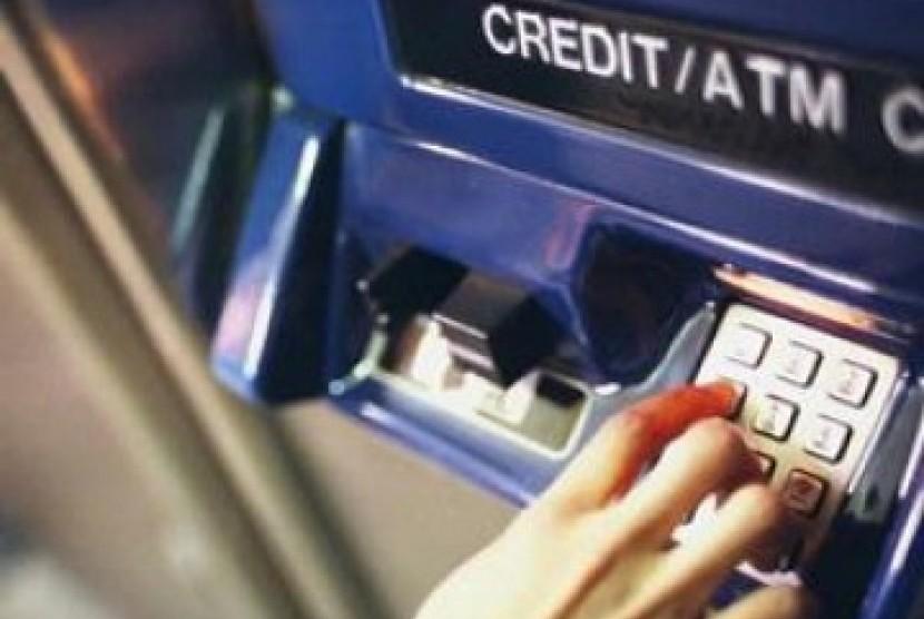 Bobol ATM/ilustrasi