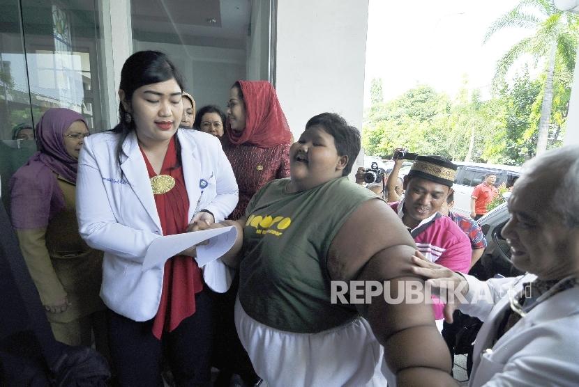 Arya Anak Obesitas: Saya Mau Kurus, Nggak Mau Makan Mie Lagi