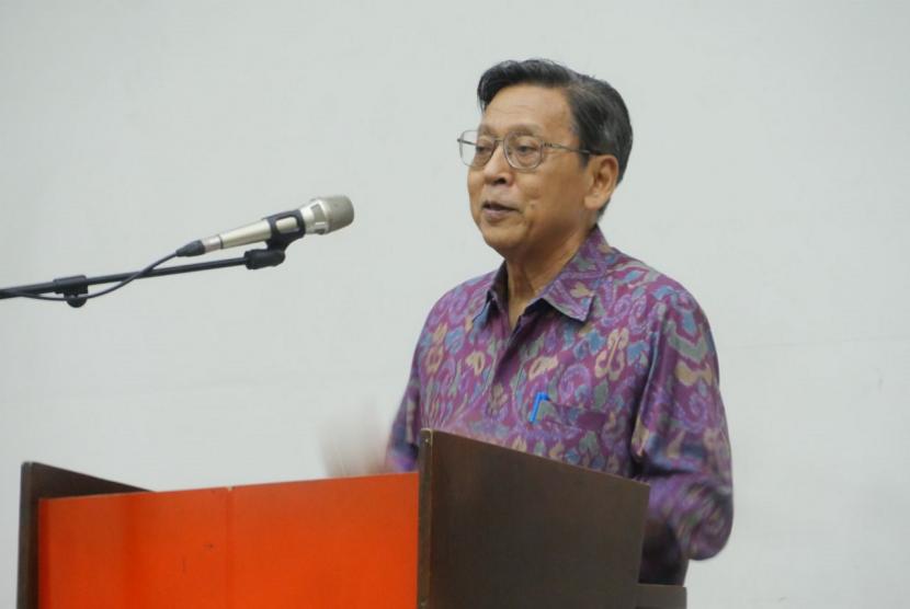 Former BI governor Boediono