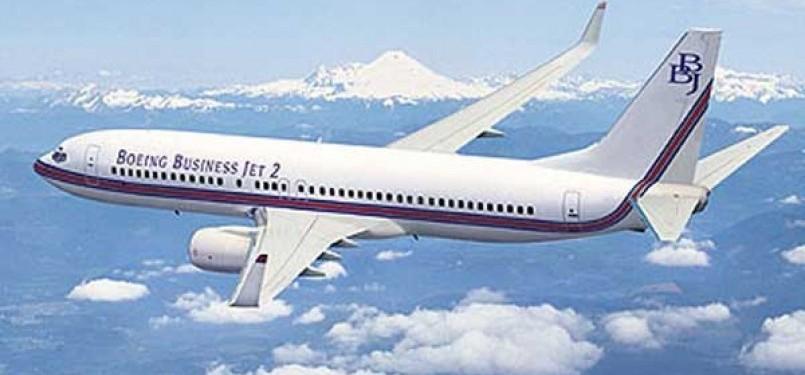 Boeing Business Jet 2, pesawat yang dibeli pemerintah RI untuk pesawat kepresidenan.