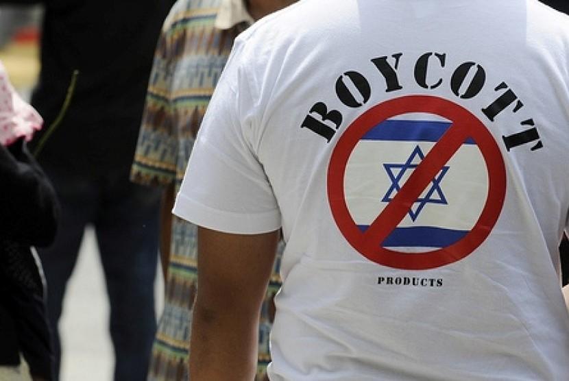 Boikot produk Israel (ilustrasi).