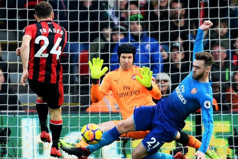 Arsenal Terjungkal 1-2 di Kandang Bournemouth