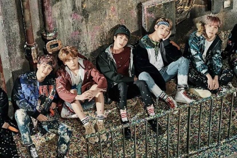 Boyband asal Korea Selatan, BTS.