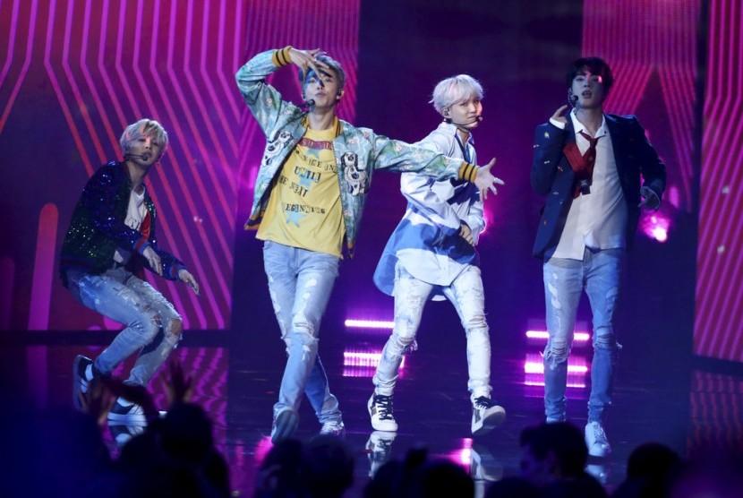 BTS Kuasai Tangga Lagu Amerika