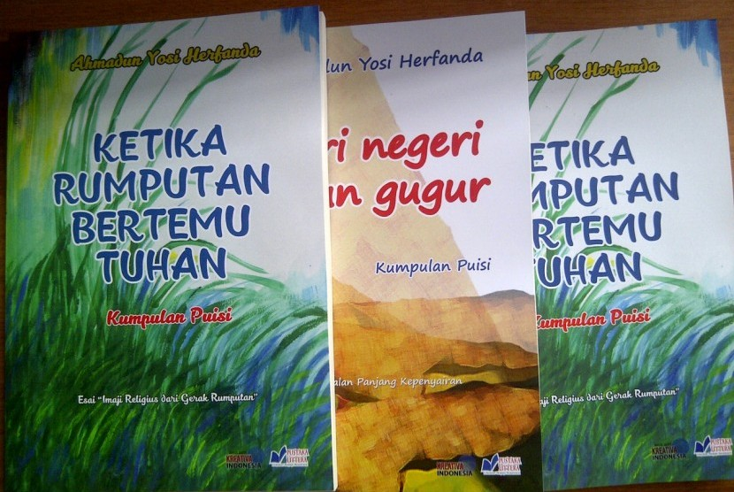 Buku Kumpulan Puisi Karya Ahmadun Yosi Herfanda
