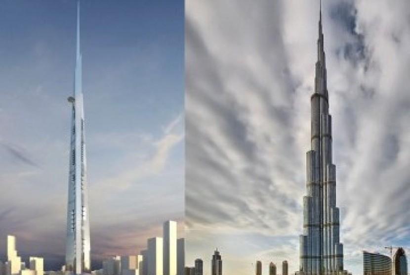 Jeddah Bangun Menara Pencakar Langit Tertinggi di Dunia