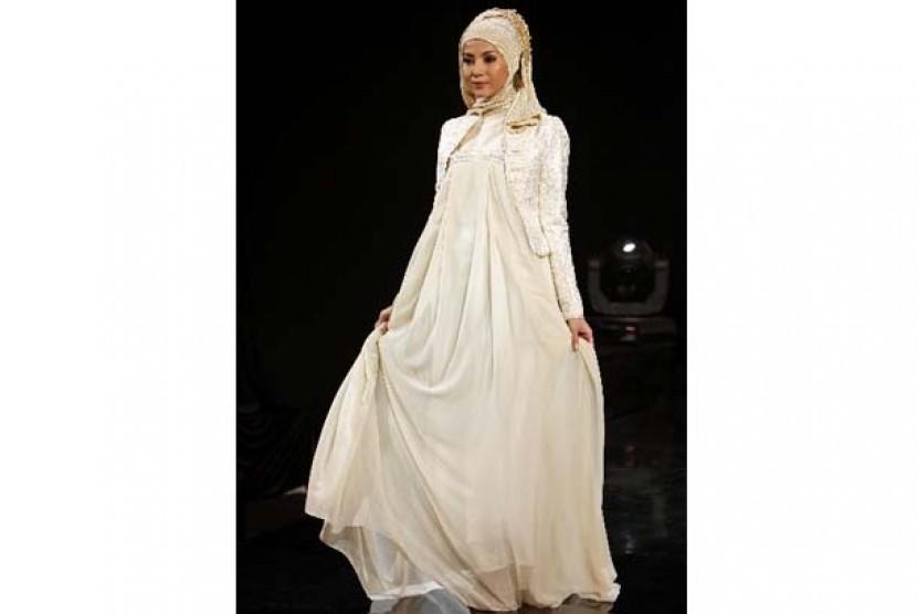 Busana pengantin Muslimah terinspirasi dari model hijabers/ilustrasi