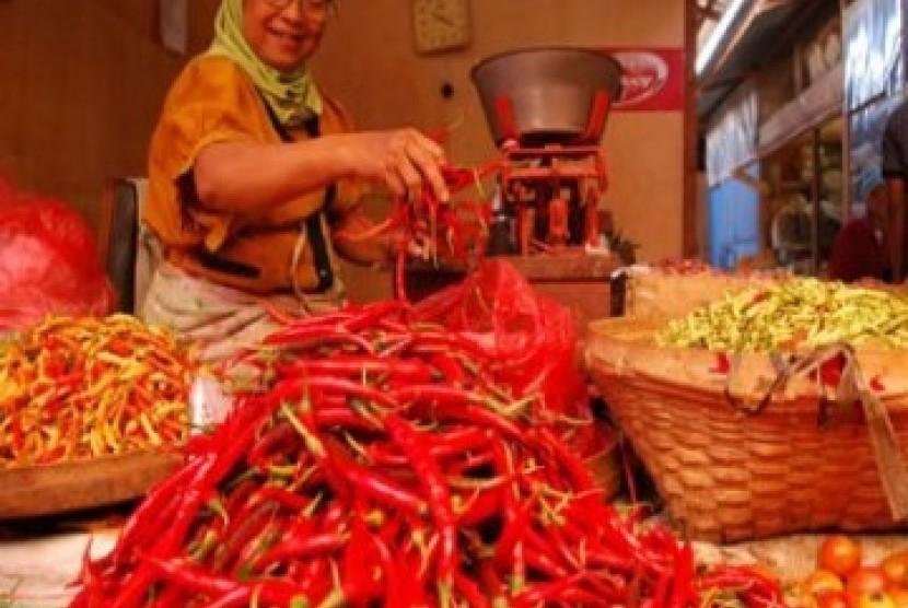 Cabai merah dan rawit di pasaran