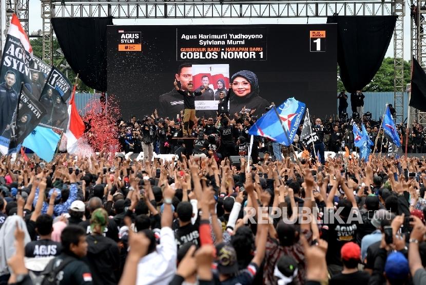 Cagub DKI Jakarta nomer urut satu Agus Harimurti Yudhoyono- Cawagub Sylviana Murni tak lolos putaran dua Pilkada DKI Jakarta. Tim pemenangan Basuki Tjahaja Purnama-Djarot Saiful Hidayat yakin bisa menggaet massa pendukung Agus-Sylvi di putaran kedua Pilkada DKI Jakarta.