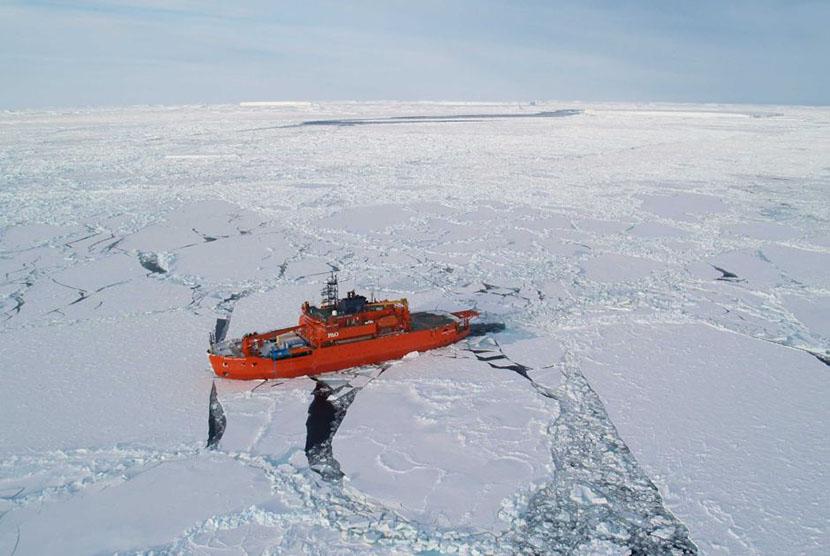 Cakupan es laut di Antartika mencapai level terluasnya sejak pencatatan dimulai pada September 2014.