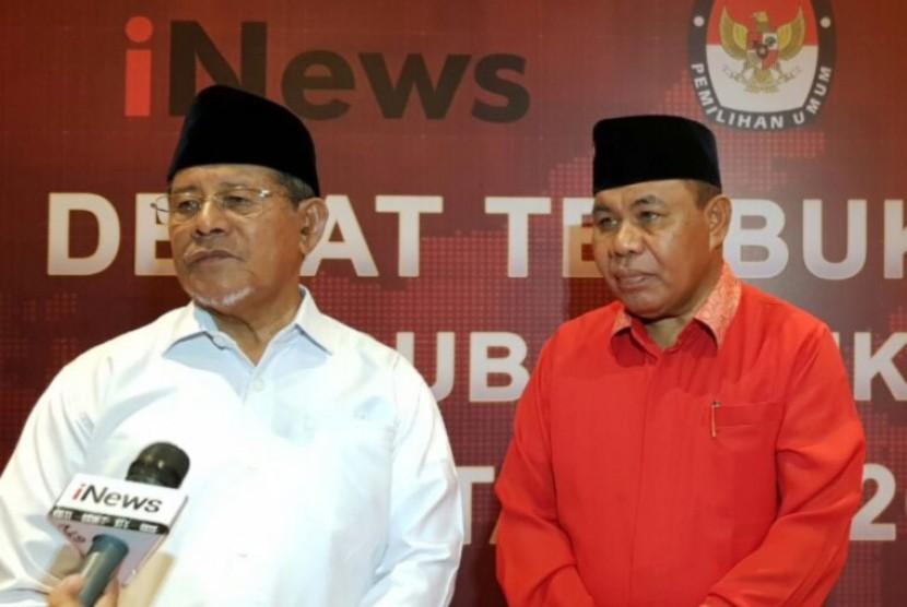 Calon gubernur (cagub) yang diusung PDI Perjuangan dan PKPI, Ahmad Gani Kasuba (AGK).
