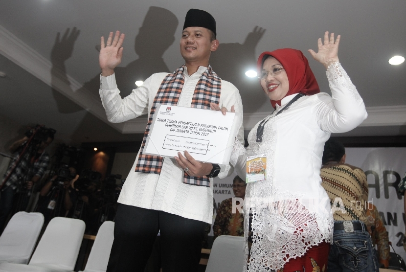 Agus Harimurti Yudhoyono and Sylviana Murni failed to enter the second round of Jakarta gubernatorial election.