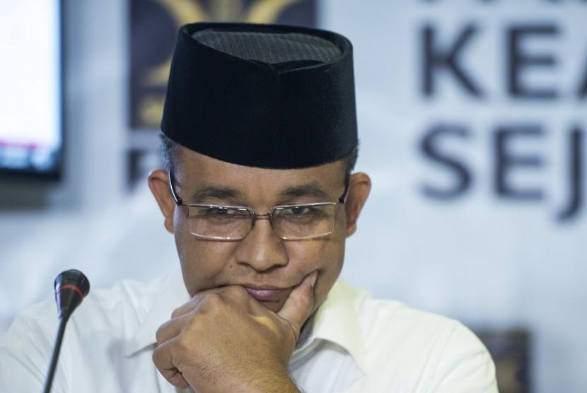 Calon Gubernur DKI Jakarta nomor urut tiga Anies Baswedan