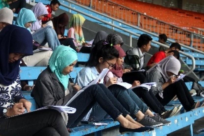 Calon mahasiswa perguruan tinggi (ilustrasi)