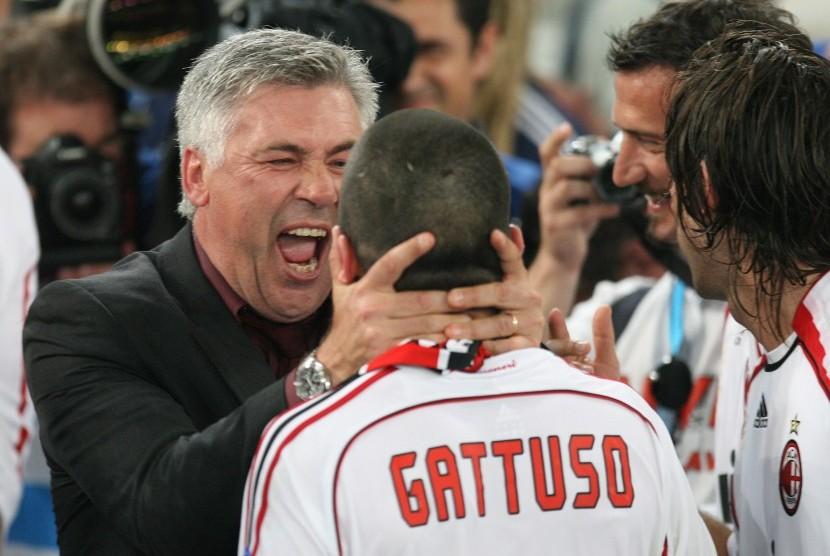 Ucapan Selamat Ulang Tahun dari Ancelotti untuk Gattuso