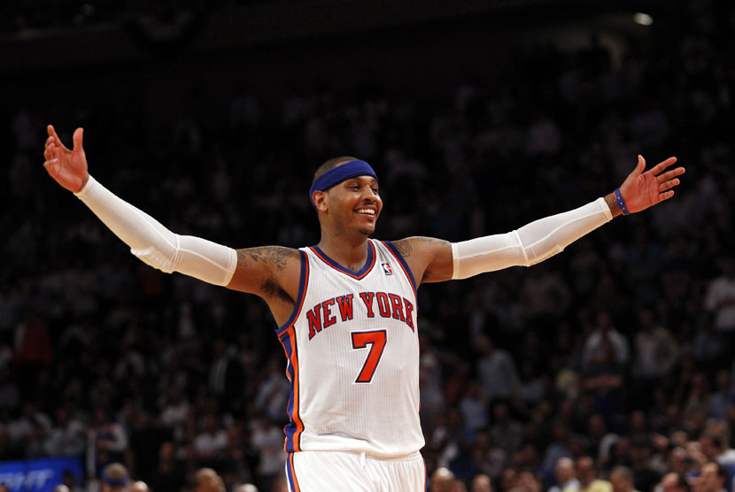 Carmelo Anthony Bawa Thunder Kalahkan Lakers