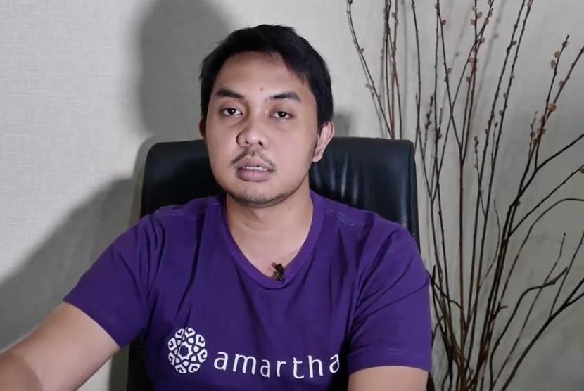 CEO dan founder Amartha Andi Taufan Garuda Putra