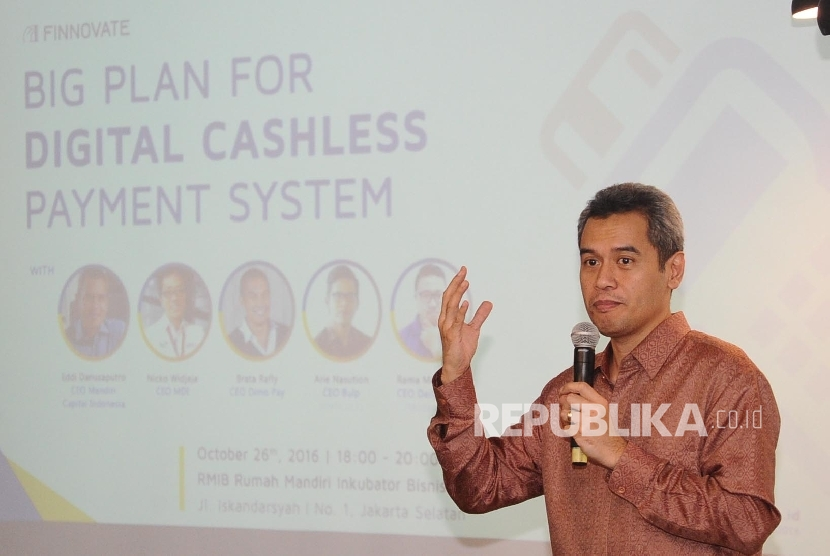 CEO Mandiri Capital Indonesia Eddi Danusaputro.