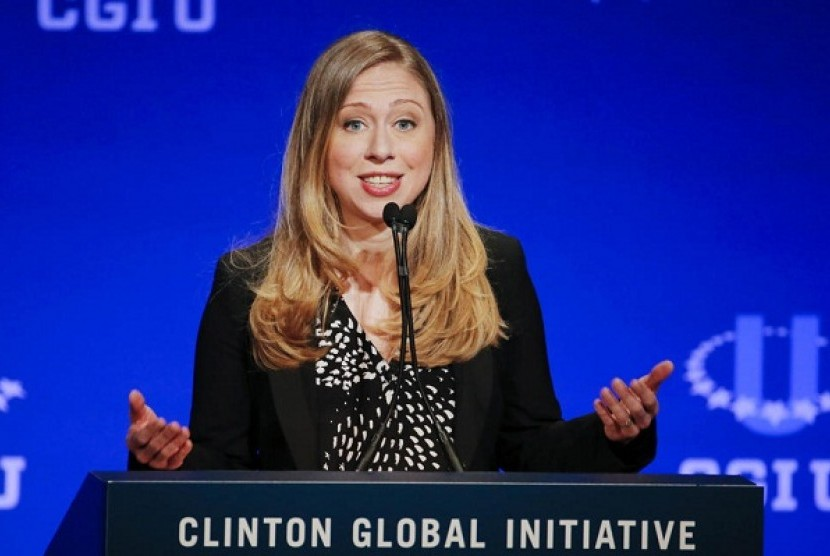 Chelsea Clinton Hindari Pertanyaan Soal Harvey Weinstein