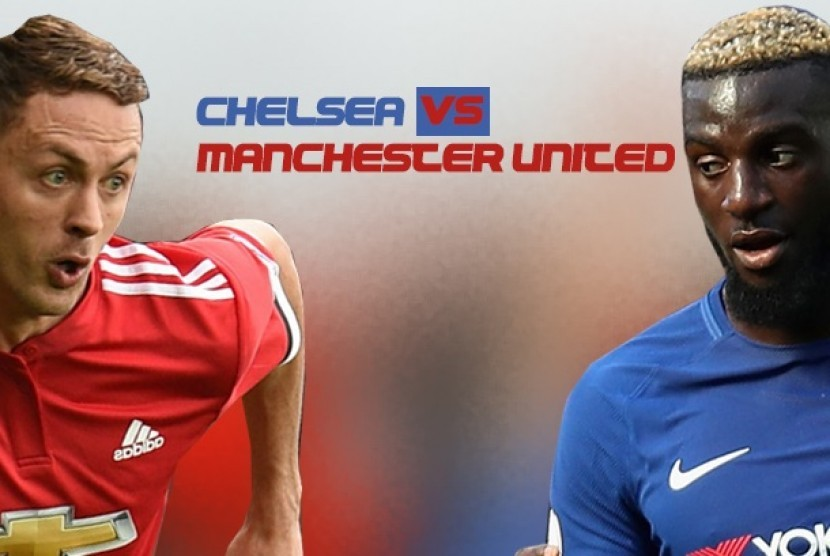 Babak Pertama, Chelsea-Manchester United Masih 0-0