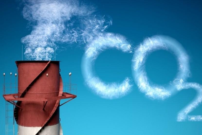 CO2. Ilustrasi