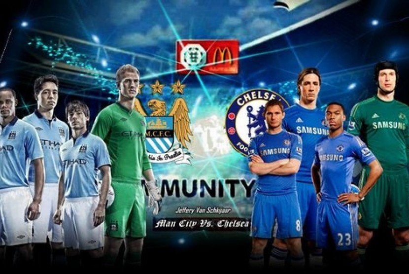 Community Shield Manchester City vs Chelsea