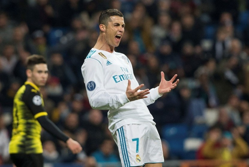 Ronaldo Top Skorer Fase Grup Liga Champions