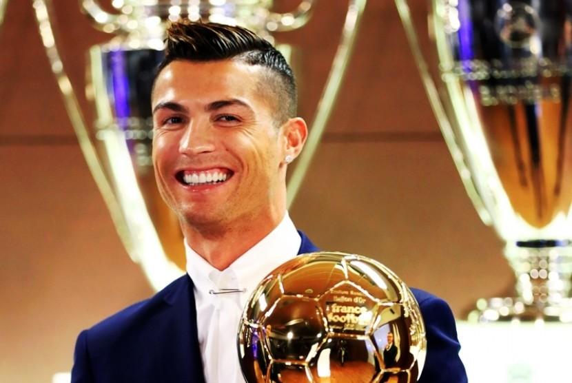 Ronaldo Yakin Dapatkan Ballon d'Or 2017
