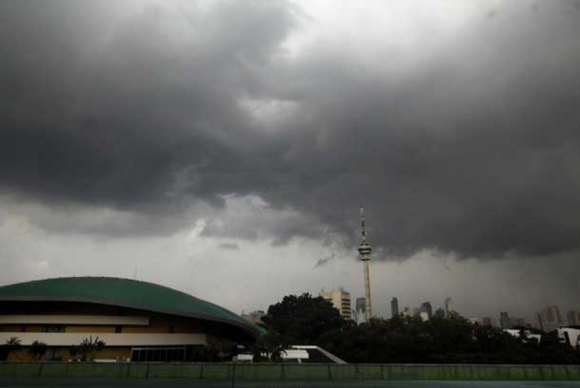 Cuaca ekstrem.   (ilustrasi)