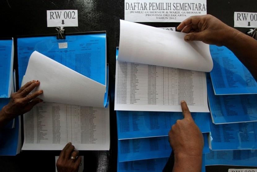Daftar Pemilih Sementara (DPS) Pilgub DKI Jakarta
