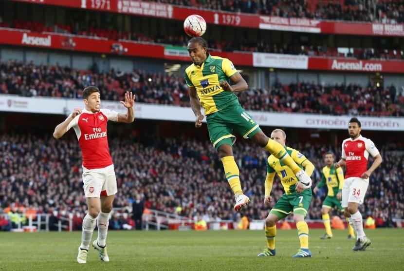 Kalahkan Norwich, Arsenal Pertahankan Posisi Tiga