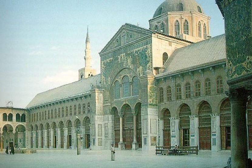 Damaskus, Suriah, pusat Daulah Umayyah (ilustrasi).