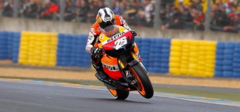 Dani Pedrosa (Repsol Honda Team) - Sirkuit Le Mans, Perancis (Photo : www.motogp.com)