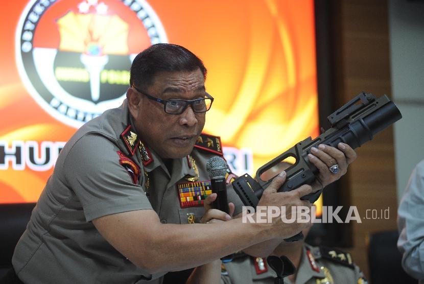 BPK Sedang Pantau Proses Impor Senjata Brimob Polri