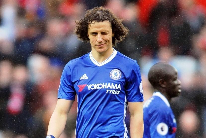 Arsenal Pantau Situasi David Luiz di Chelsea