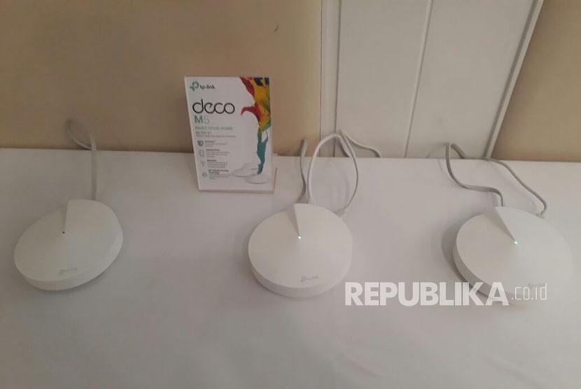 DECO M5, sistem wifi terbaru dari TP Link yang dilengkapi aprental control