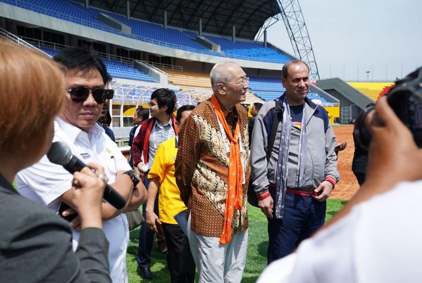 CDM Negara Peserta Asian Games 2018 Kunjungi Jakabaring